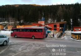 Przewozy autokarowe Warszawa - Szpindlerowy Młyn