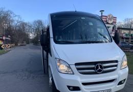 Obsługa busem grupy biznesowej z Danii